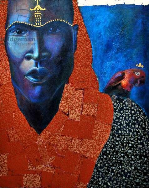 EZE, 2011 (mixed media on canvas)