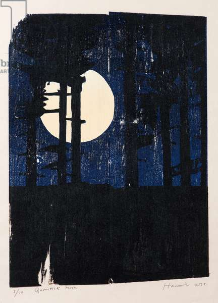 Quantocks Moon
