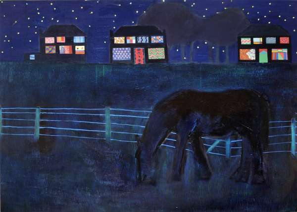 Starlight, 2005 (oil on panel)