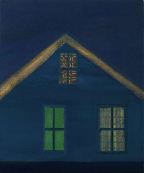 Outport 2, 2009 (oil on linen)