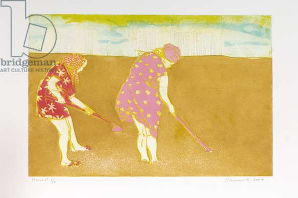 Harvest, 2007 (etching with aquatint)