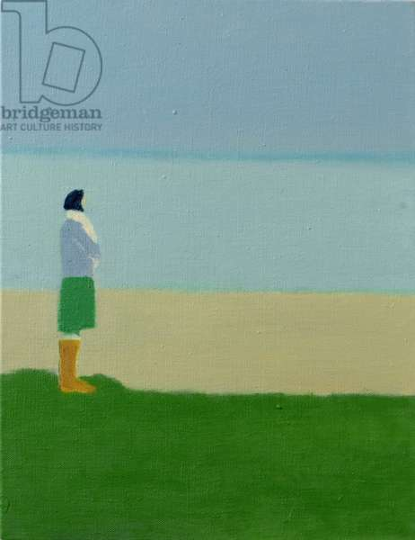 Martha by the Sea, 2007 (oil on linen)