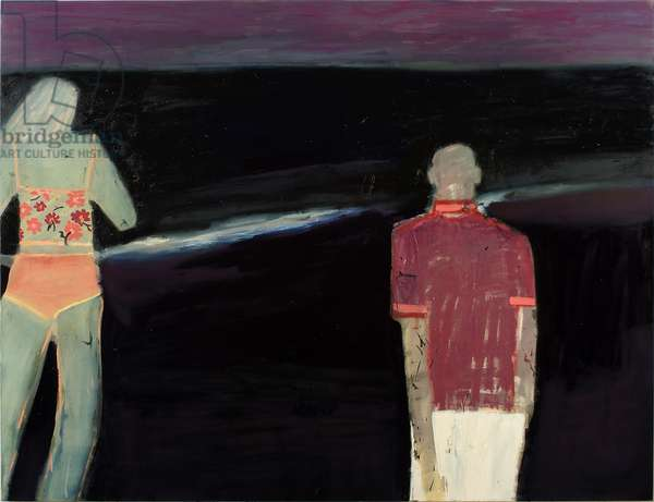 Honeymoon, 2001 (oil on canvas)