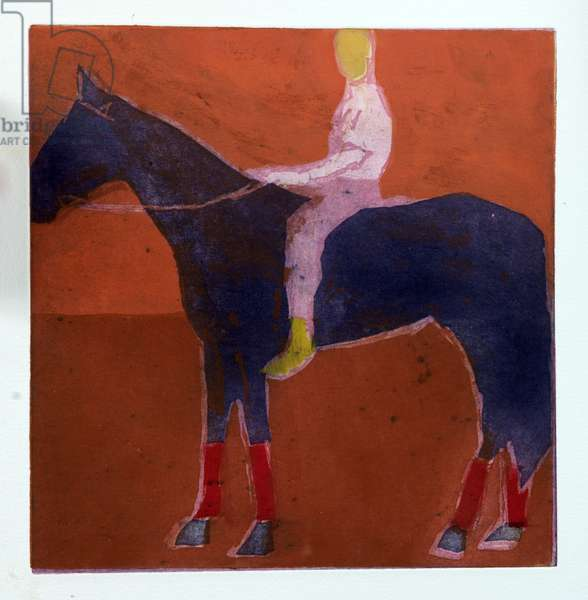 Horse and Boy, 2006 (etching & aquatint)