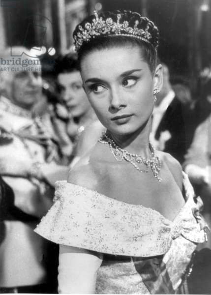 Scene from 'Roman Holiday', 1953 (b/w photo)