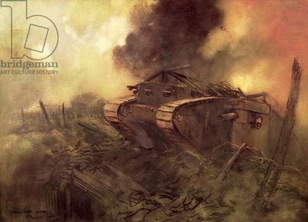 Tanks, Somme (w/c)