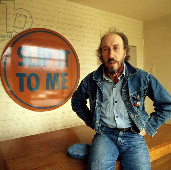 Richard Hamilton, 1972 (photo)