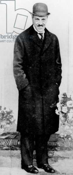 Mr Edwin S Montagu (Secretary of State for India) (Amritsar Massacre - India 1919) (b/w photo)