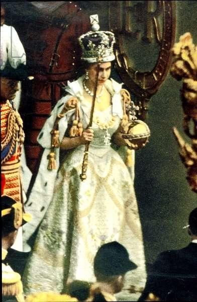 Coronation of Queen Elizabeth II, 6th February, 1952 (photo)