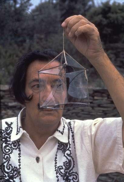 Portrait of Salvador Dali (1904-89) (photo)