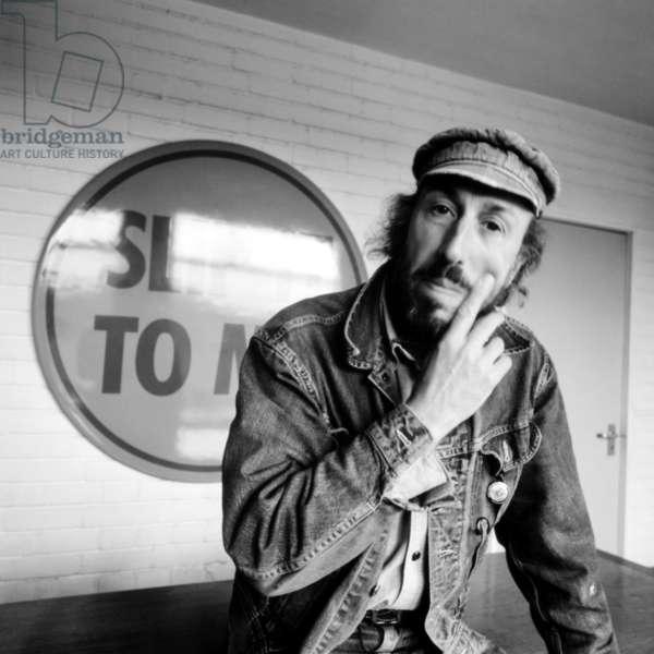 Richard Hamilton, 1972 (b/w photo)