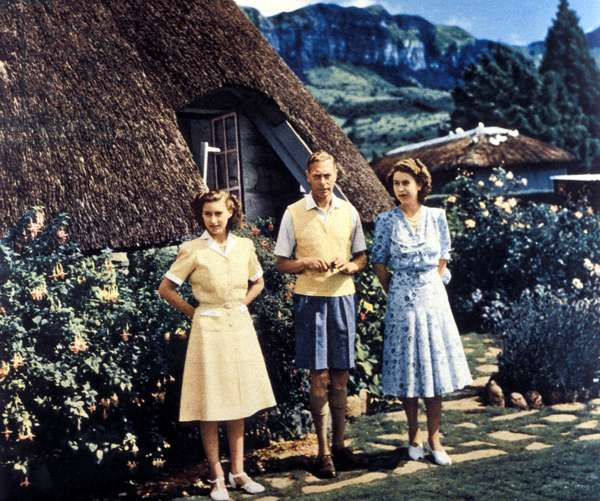 Royal tour, Natal National Park, South Africa, 1947 (photo)