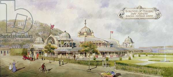 Projected Design for Torquay Pavilion, 1909 (w/c on paper)