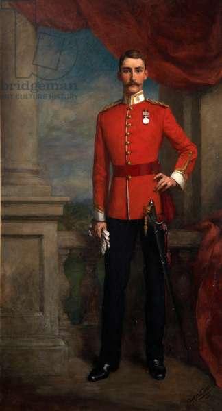 Lieutenant Henry Cary of the Devonshire Regiment, c.1911 (oil on canvas)