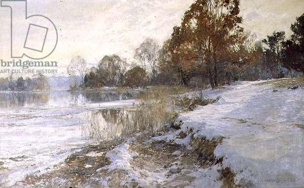 Winter's Loveliness, 1904 (oil on canvas)