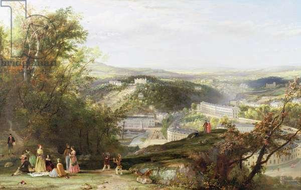 Torquay Harbour, c.1830 (oil on canvas)