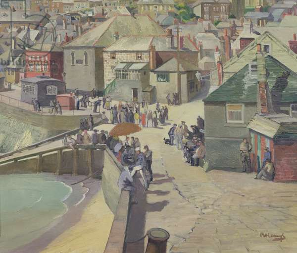 Dolce Far Niente, St. Ives (oil on canvas)