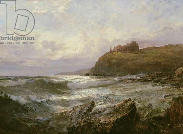 Tantallon Castle, East Lothian, c.1876 (oil on canvas)