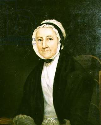 Portrait of a Quaker Lady (oil on canvas)