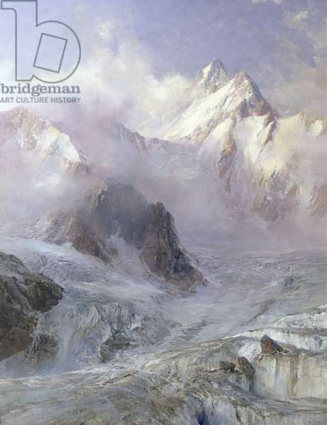 The Alps, c.1906 (oil on canvas)