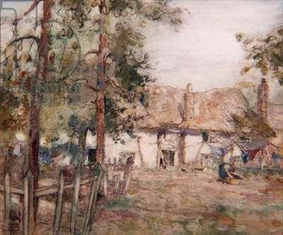 A Devon Farm (w/c & gouache on paper)