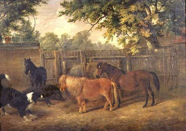 Old Friends, 1826 (oil on canvas)