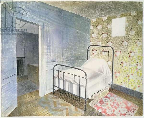 The Bedstead, c.1939 (w/c)