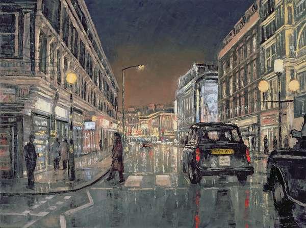Shaftesbury Avenue, 2004 (oil on canvas)