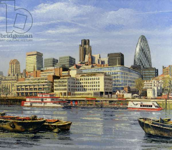 The City, 2004 (oil on canvas)