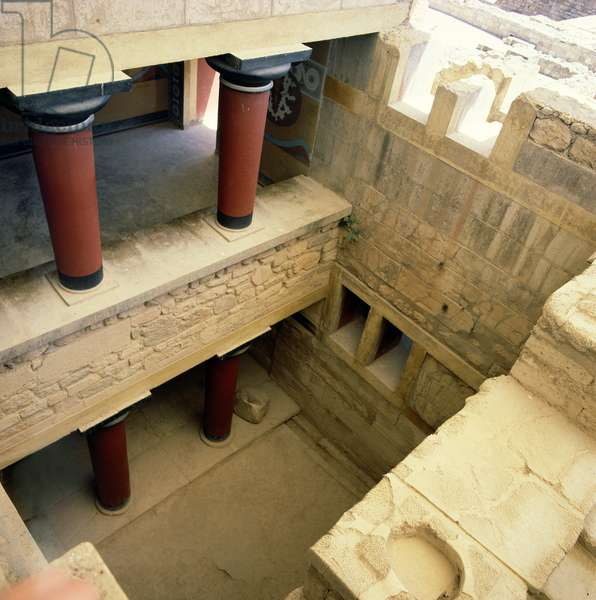 Interior of the Palace, c.1500 BC (photo)