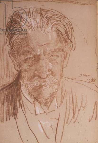 Portrait of Dr Albert Schweitzer (1875-1965) 1955