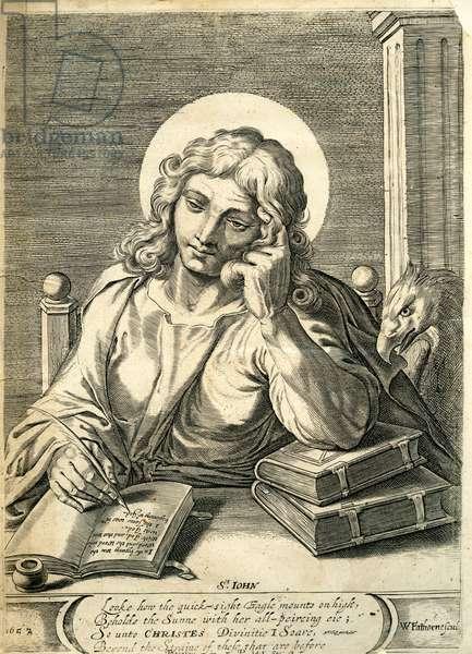 St. John the Evangelist, 1657 (engraving)