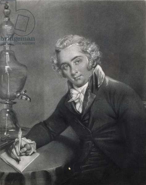 Thomas Garnett MD (1766-1802) (engraving)