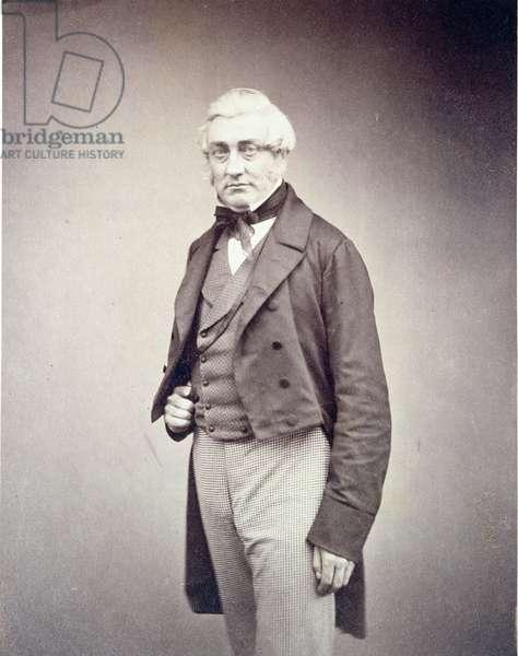 Henry Bence Jones (1814-73) c.1850s (albumen print)