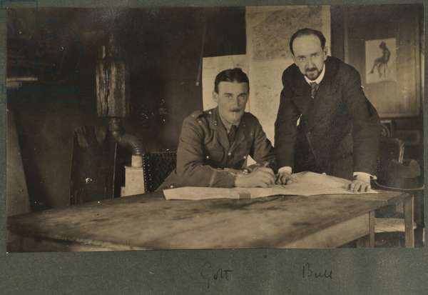 Golt and Lucien Bull s, c.1916 (b/w photo)