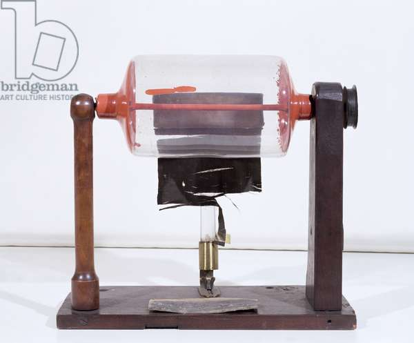 Frictional Electric Machine (photo)