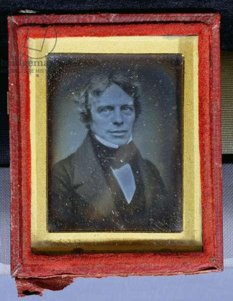 Michael Faraday (1791-1867) 1840s-50s (daguerreotype)