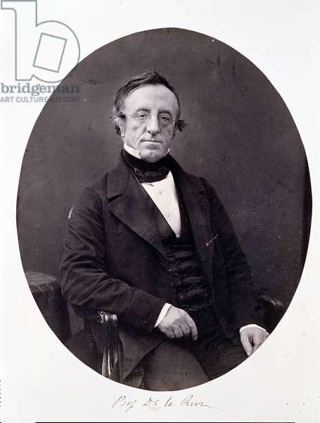Arthur-Auguste De La Rive (1801-73) (albumen print)