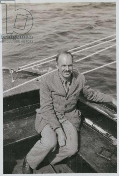 William Lawrence Bragg (1890-1971) (b/w photo)