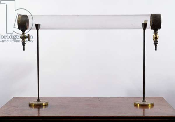 John Tyndall's apparatus for showing why the sky is blue (photo)