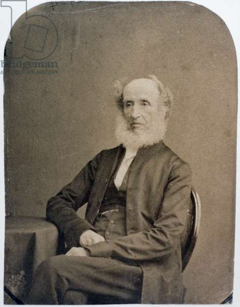 Portrait of Benjamin Abbott (1793-1870) (photo)