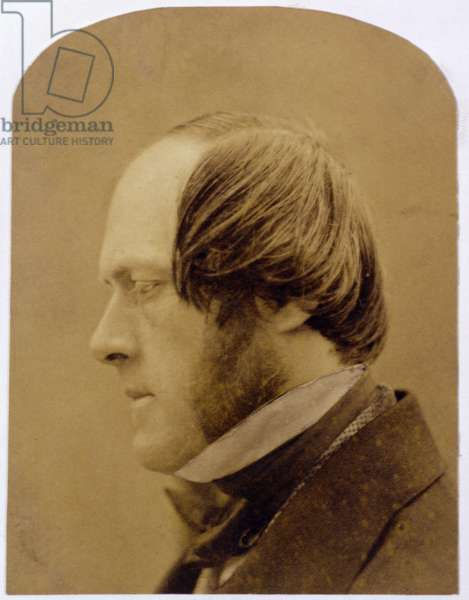 Sir William Frederick Pollock (1815-88) (albumen print)