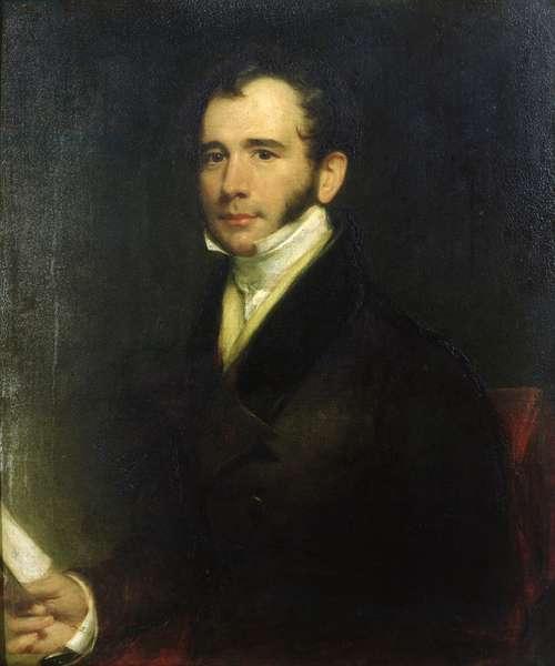 Portrait of William Thomas Brande (1788-1866) 1830 (oil on canvas)