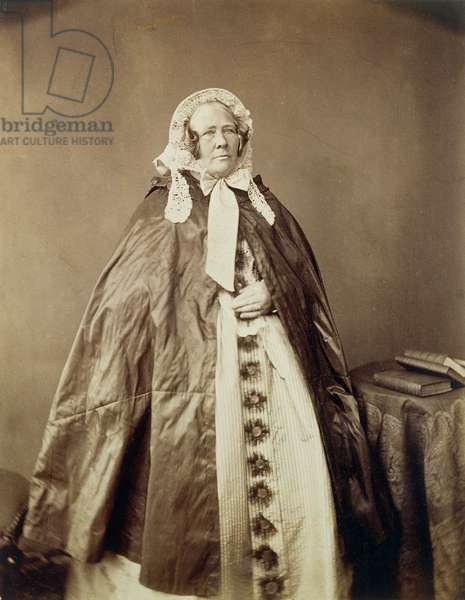 Ann Phillips (1803-62) (b/w photo)