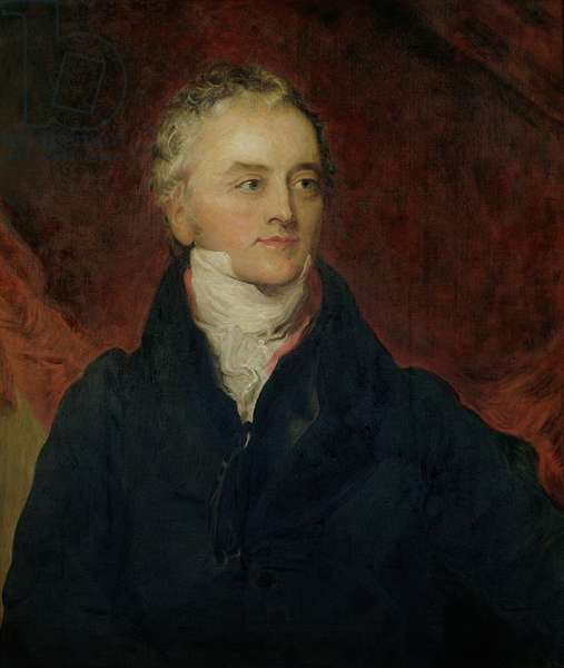 Portrait of Thomas Young (1773-1829) 1922 (oil on canvas)