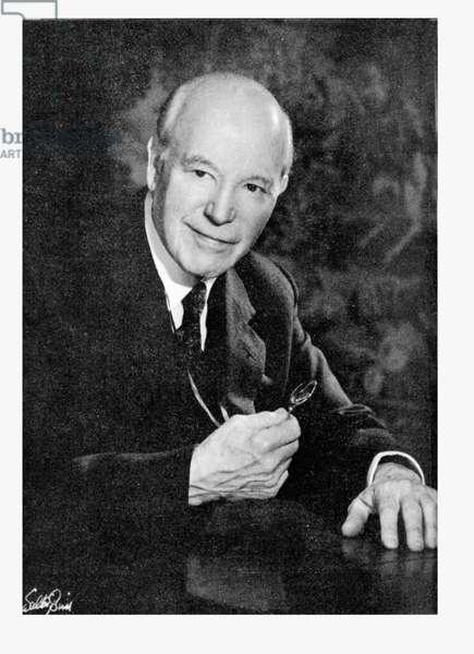 Edward Neville da Costa Andrade (1887-1971) (b/w photo)