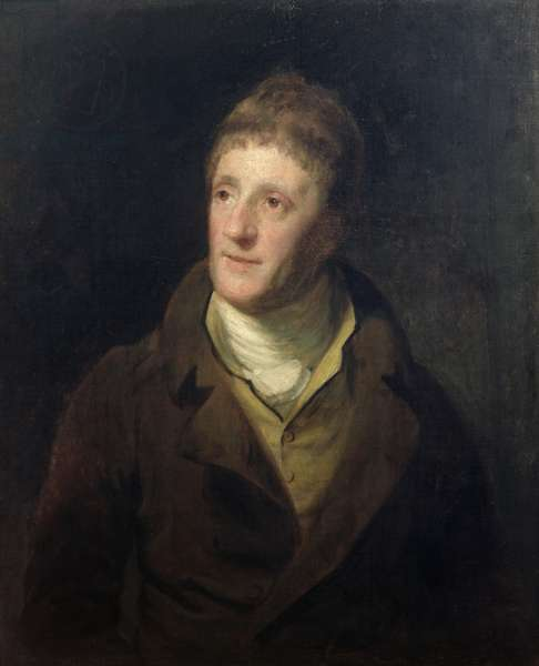 Portrait of Sir John Soane (1753-1837) (oil on canvas)