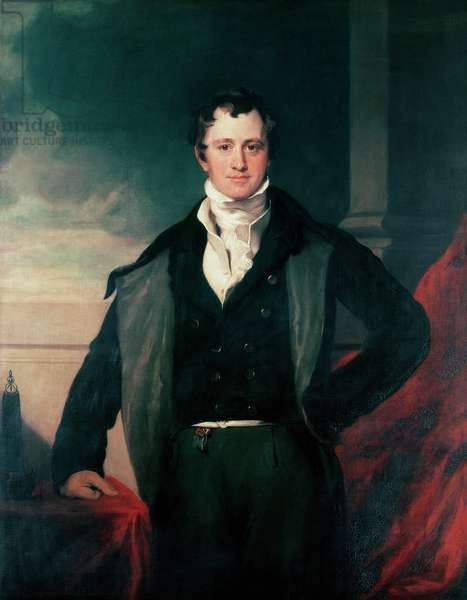 Sir Humphry Davy, 1831 (oil on canvas)