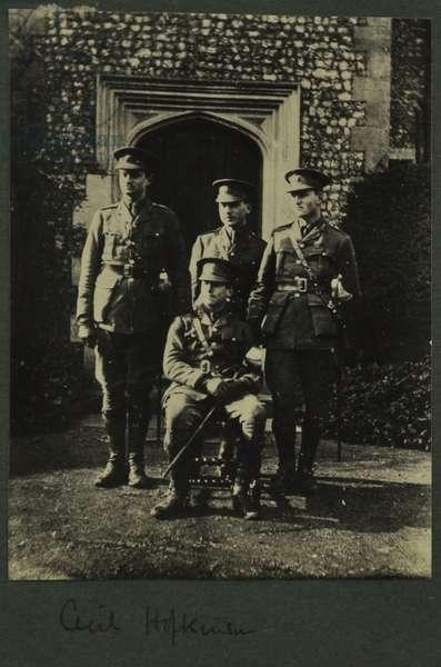 Cecil Hopkinson, 1914-15 (b/w photo)