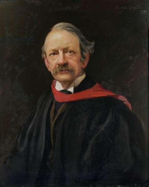 Sir Joseph John Thomson (1856-1940) 1924 (oil on canvas)